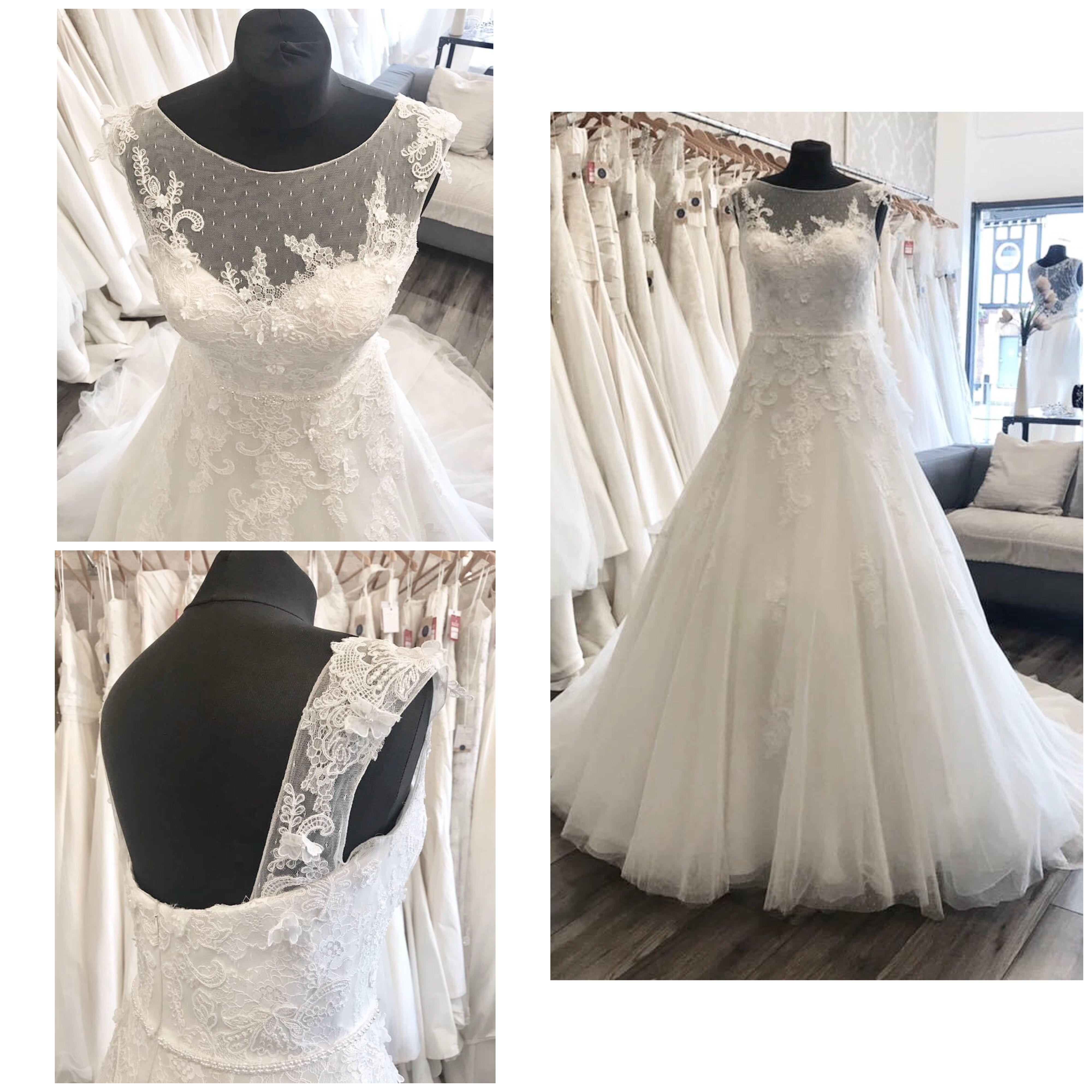 Wedding Dress Preloved Wedding Dresses Wedding Dresses Lace Full Tulle Skirt [ 4000 x 4000 Pixel ]