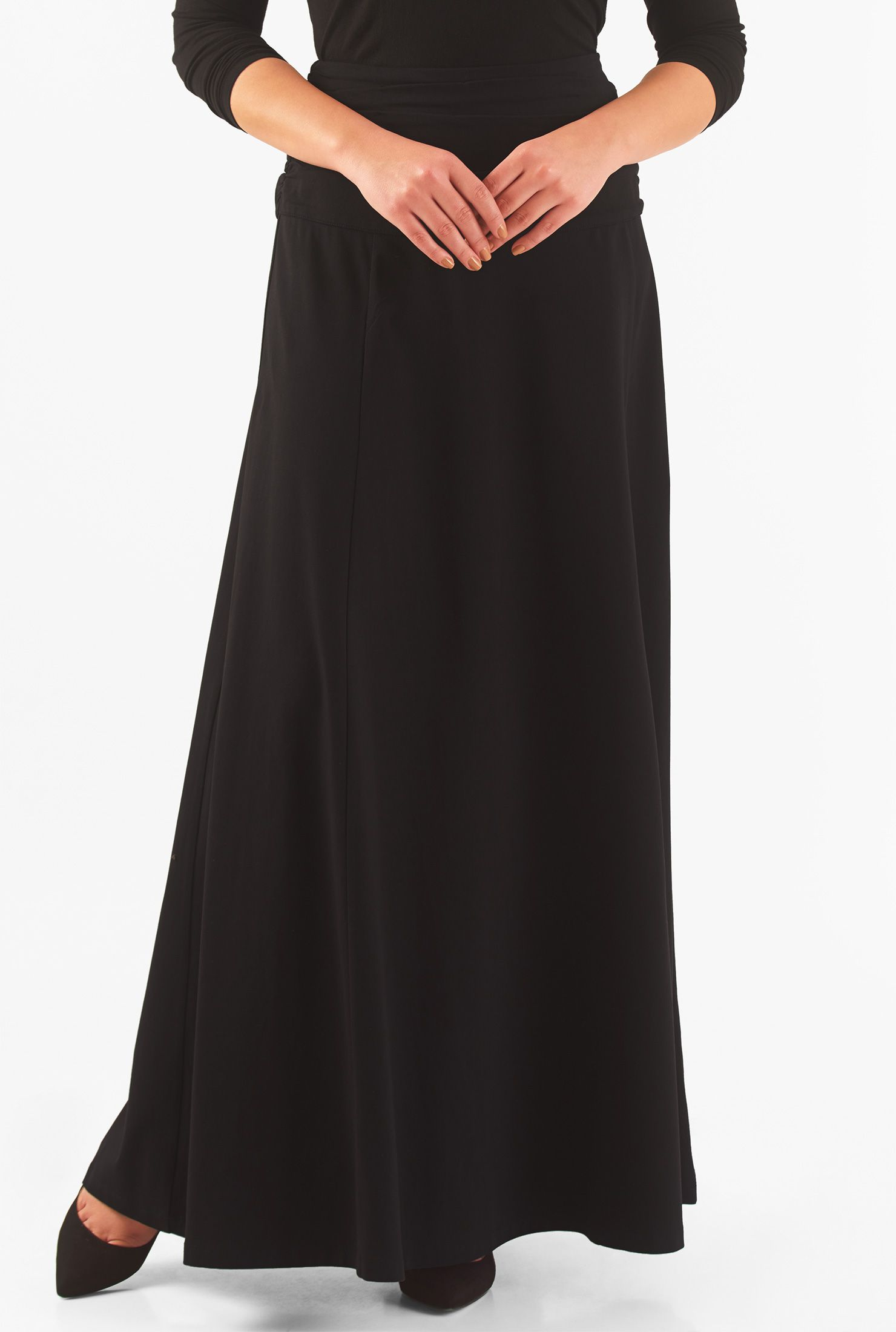 0333f708014 Long Jersey Knit Maxi Skirts - Gomes Weine AG