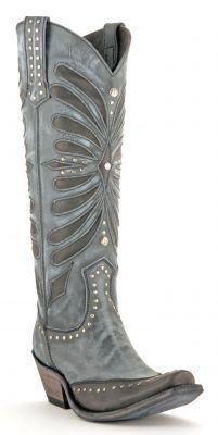 Womens Liberty Black Vintage Boots Grafito #Lb-711510graf via @Allen & Cheryl Smith Boots