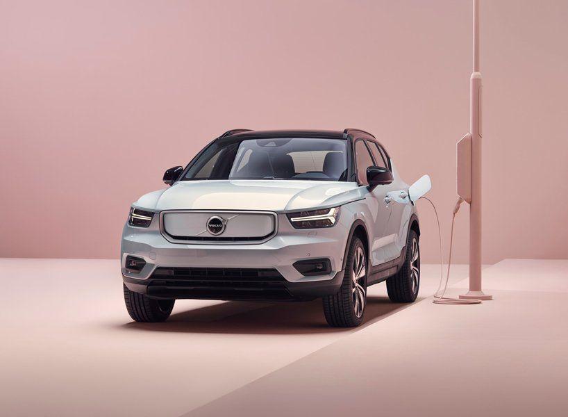 Volvo Prasentiert Sein Erstes Vollelektrisches Auto Den Xc40 Recharge In 2020 Volvo Volvo Cars Hybrid Car