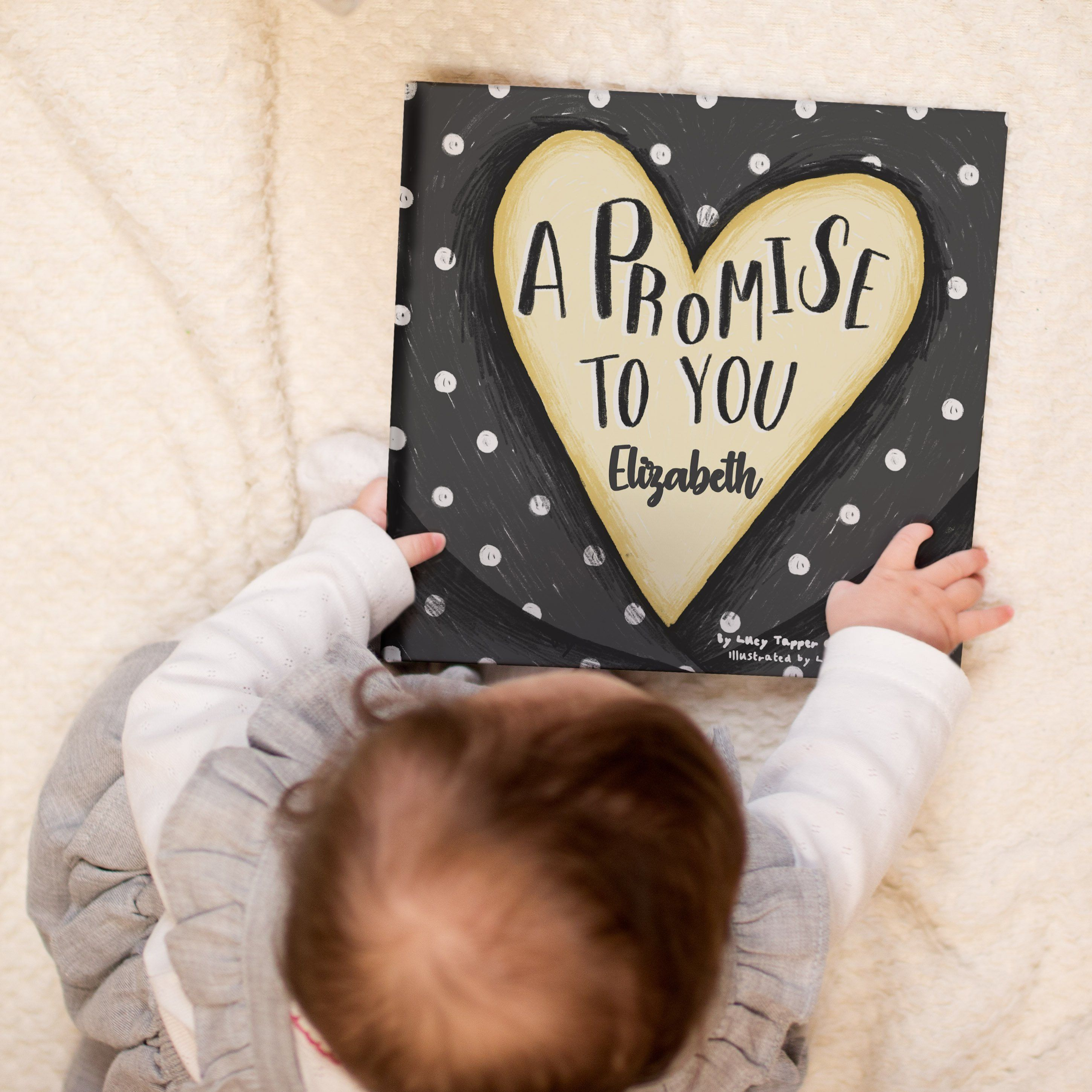 Personalised Children S Book A Promise To You Baptism Etsy Personalized Books For Kids Godchild Personalised Childrens Books