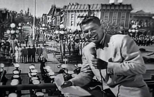 Ronald Reagan Reports On The Opening Day Of Disneyland 1955 From