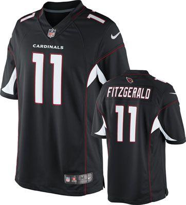 5830be0a4f3a Arizona Cardinals Jersey  Alternate Black Limited Nike