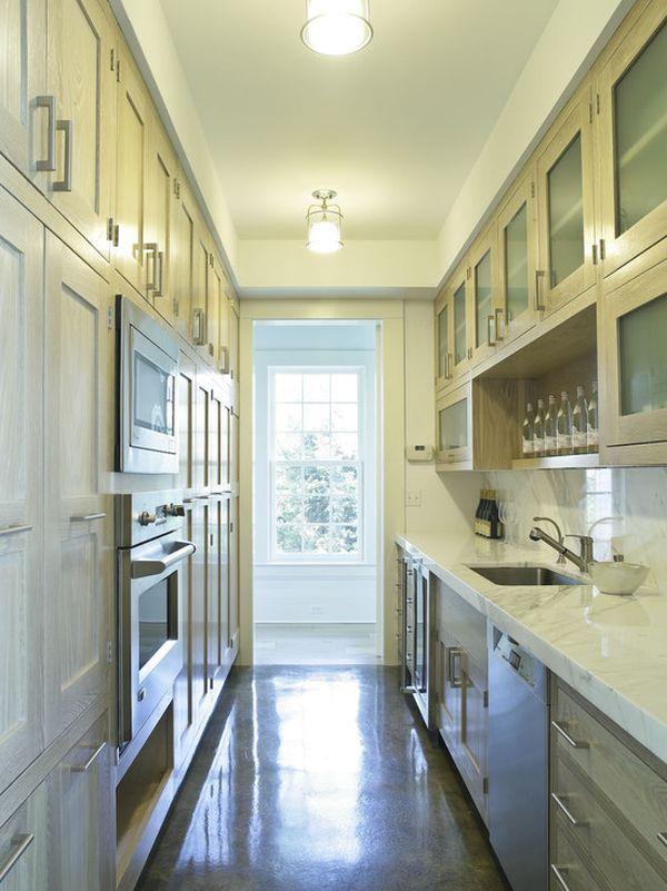 Interior Designs For Long And Narrow Kitchens Long Narrow