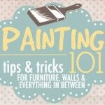 Painting 101 {for furniture, walls and more}