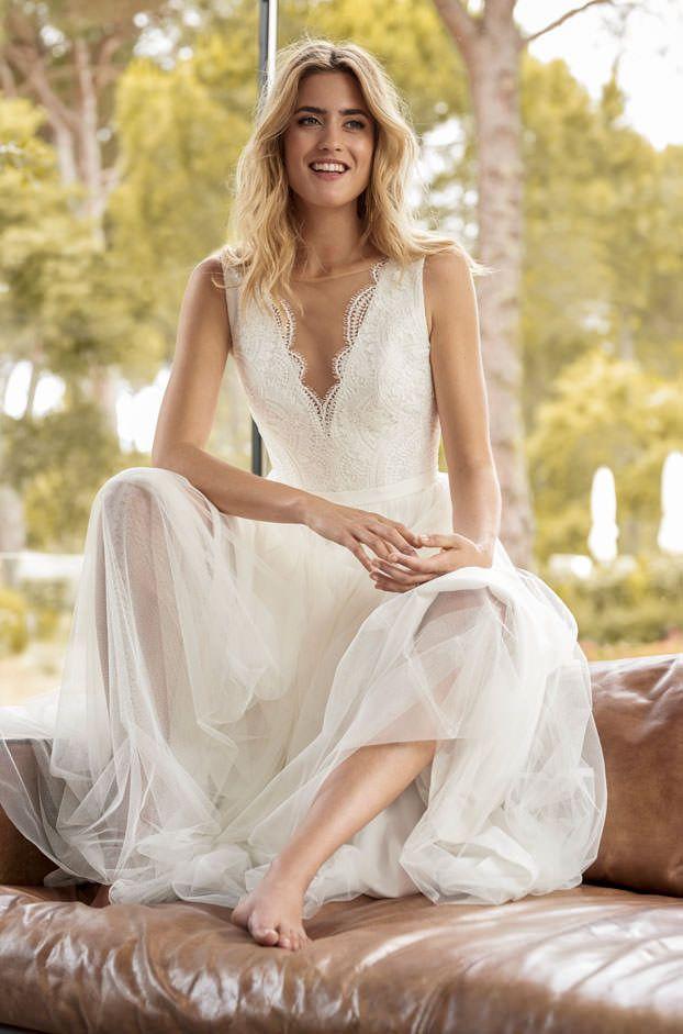 Brautkleider von Marylise - Model Romance | Kleider | Pinterest ...