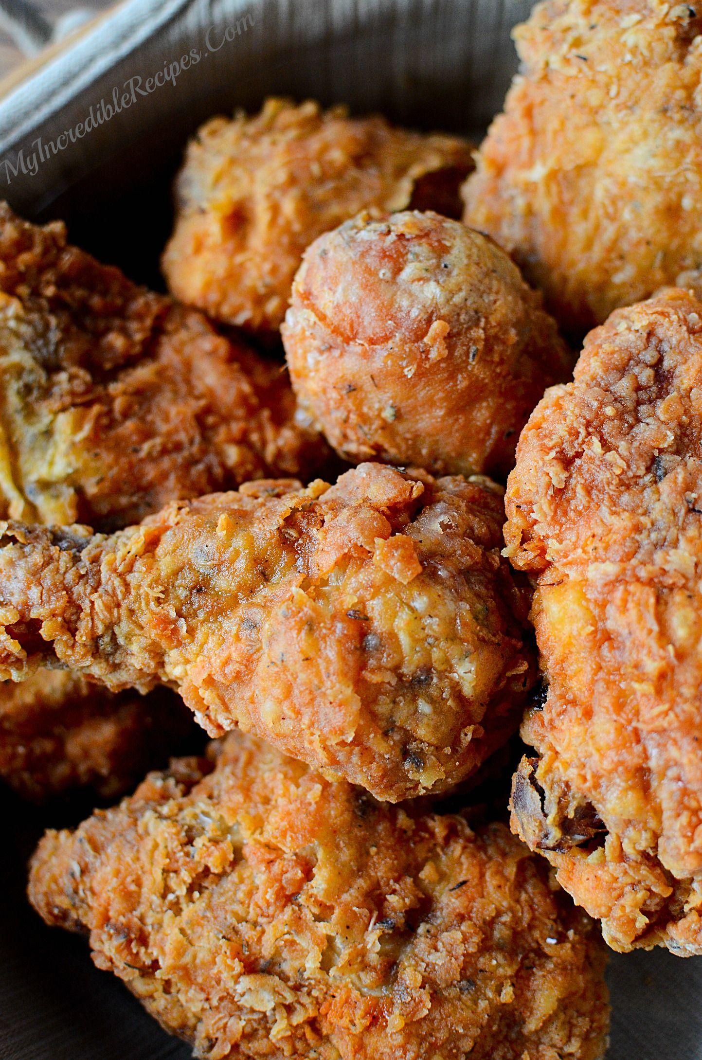 Southern Kfc Secret Fried Chicken Recipe Recipe Fried Chicken Recipes Recipes Chicken Recipes