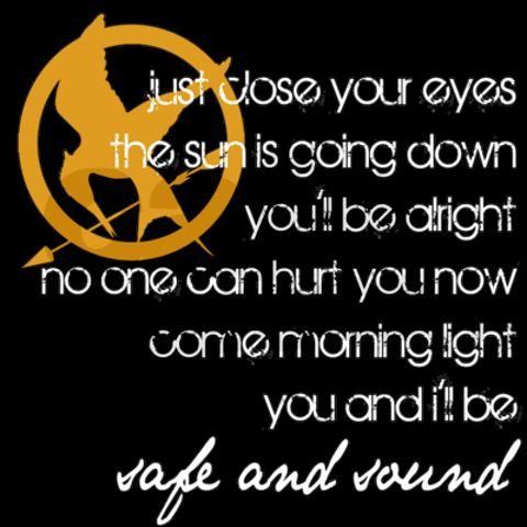 I love The Hunger Games...  =)