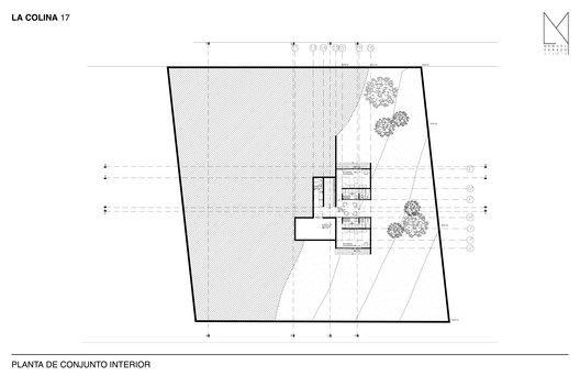 La Colina 17,Planta de Conjunto Interior