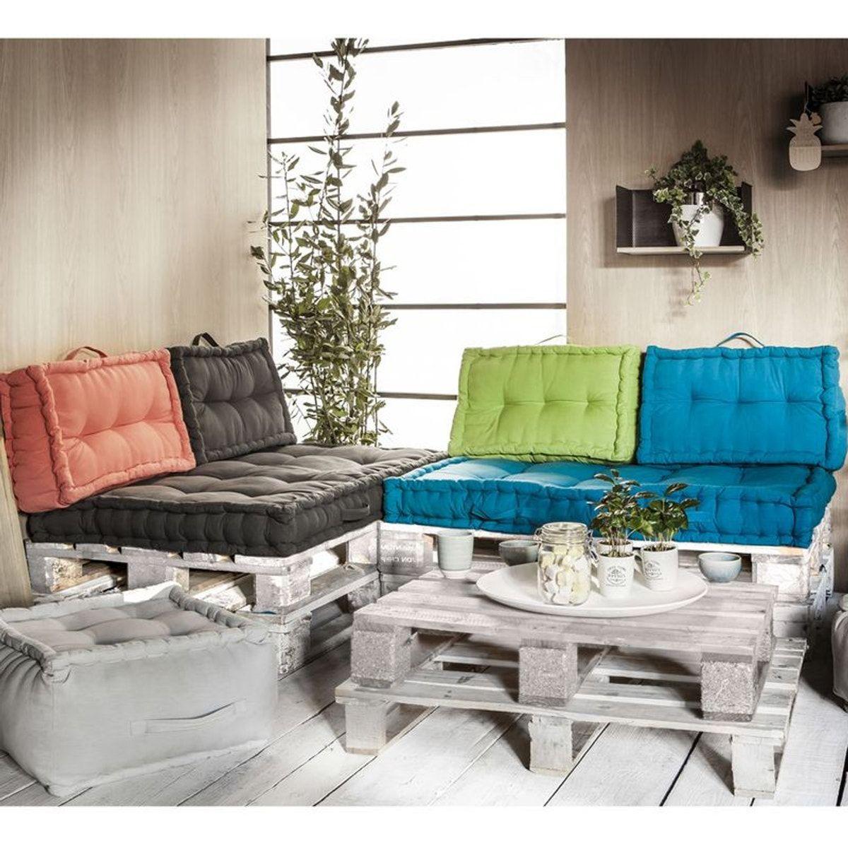 Ensemble Coussins Palettes En Coton Taupe In 2019 Products