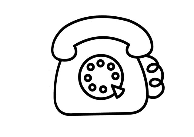 Menta Mas Chocolate Recursos Y Actividades Para Educacion Infantil Dibujos Para Colorear De Med Dibujos De Telefonos Telefono Dibujo Dibujos De Comunicacion
