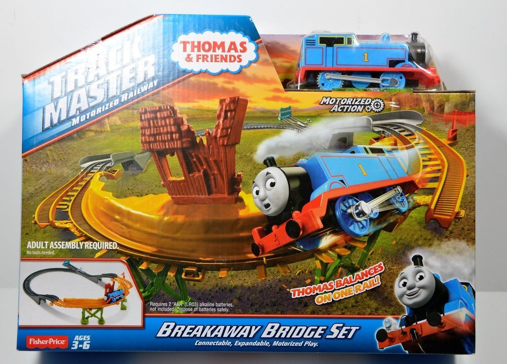 SOLD! Thomas and Friends Track Master Motorized Railway Breakaway ...
