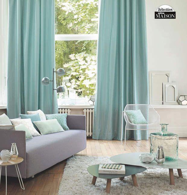 Une déco vert d\'eau | Salons, Living rooms and House