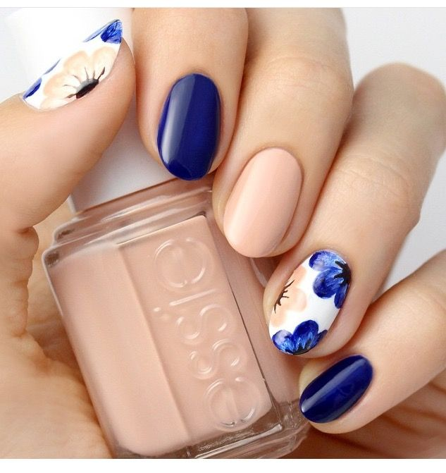 Pin by raisinette superstar on nail art pinterest manicure draw inspiration from nature top 55 spring floral nail art ideas discover gorgeous nail art designs perfect for any occasion prinsesfo Image collections