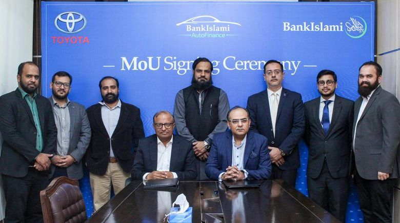 Bankislami signs mou with indus motor company incpak