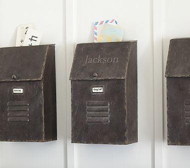 Galvi Mailbox Pottery Barn Kids Kids Bedroom Accessories Industrial Kids Decor Pottery Barn Kids