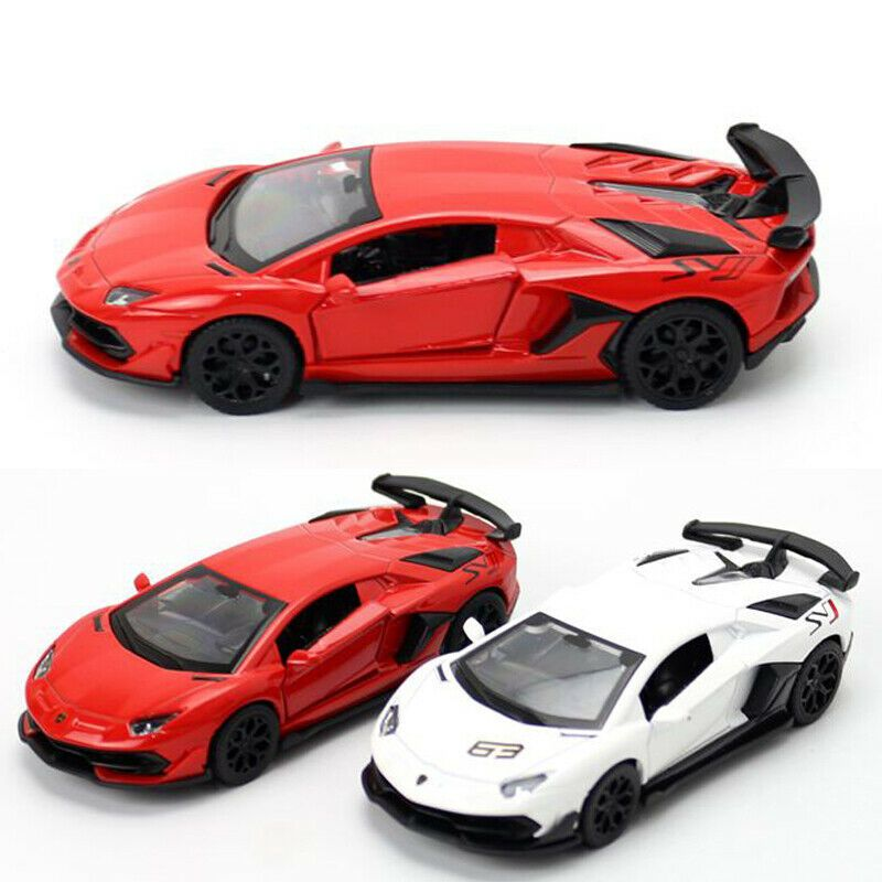 1 43 2018 Lamborghini Aventador Svj 63 Supercar Model Diecast Toy Vehicle Kids Super Cars Toy Car Lamborghini Aventador