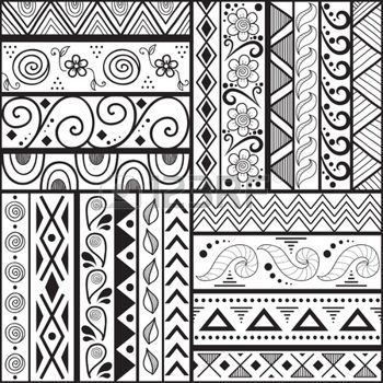 Aztec Seamless Pattern Can Be Used In Fabric Design For Making Pattern Design Drawing Doodle Patterns Zentangle Patterns