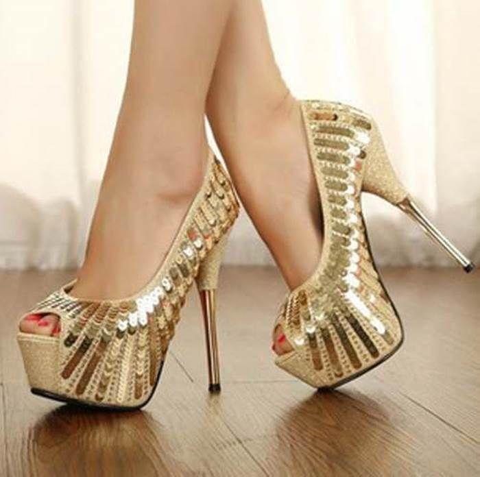 Zapatos Tacón de aguja románticos para mujer