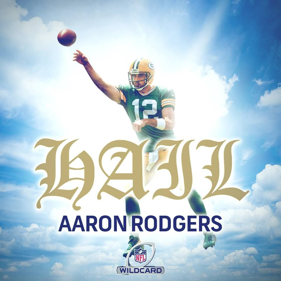 From Now On Hail Marys Will Be Known As Hail Aaron Rodgers Green Bay Packers Jerseys Green Bay Packers Baby Green Bay Packers