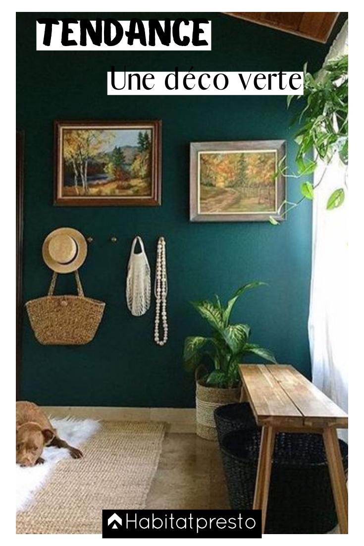 Deco Jaune Et Vert couleur verte : 5 idées tendance pour une déco nature | murs