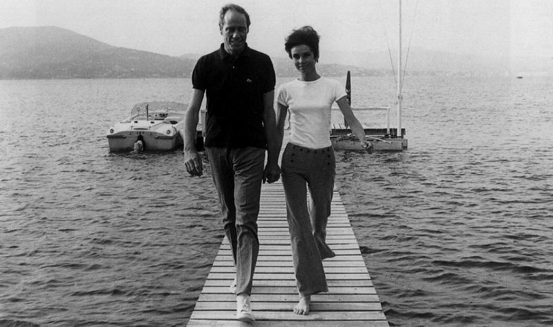 Photo of Mel Ferrer and Audrey Hepburn via Dazzle Me Gen.