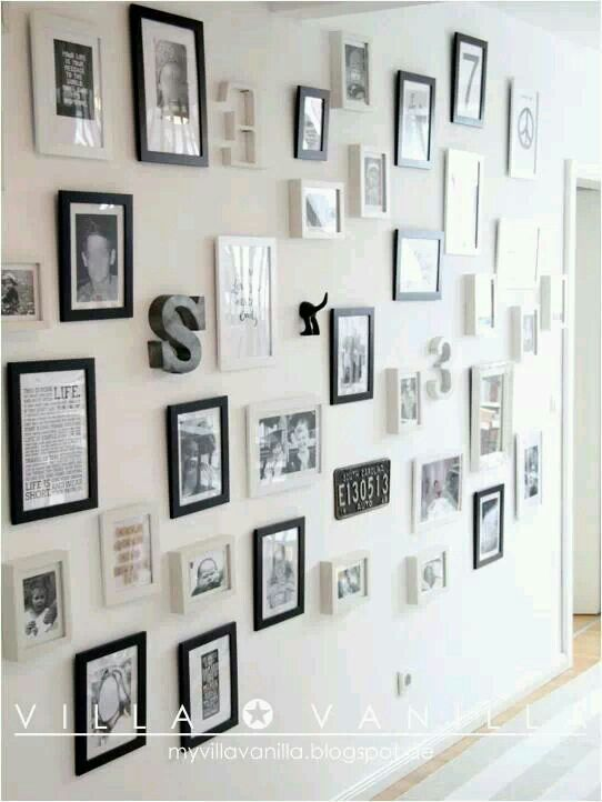 Eclectic wall art | <3 | Pinterest | Walls and Frames ideas