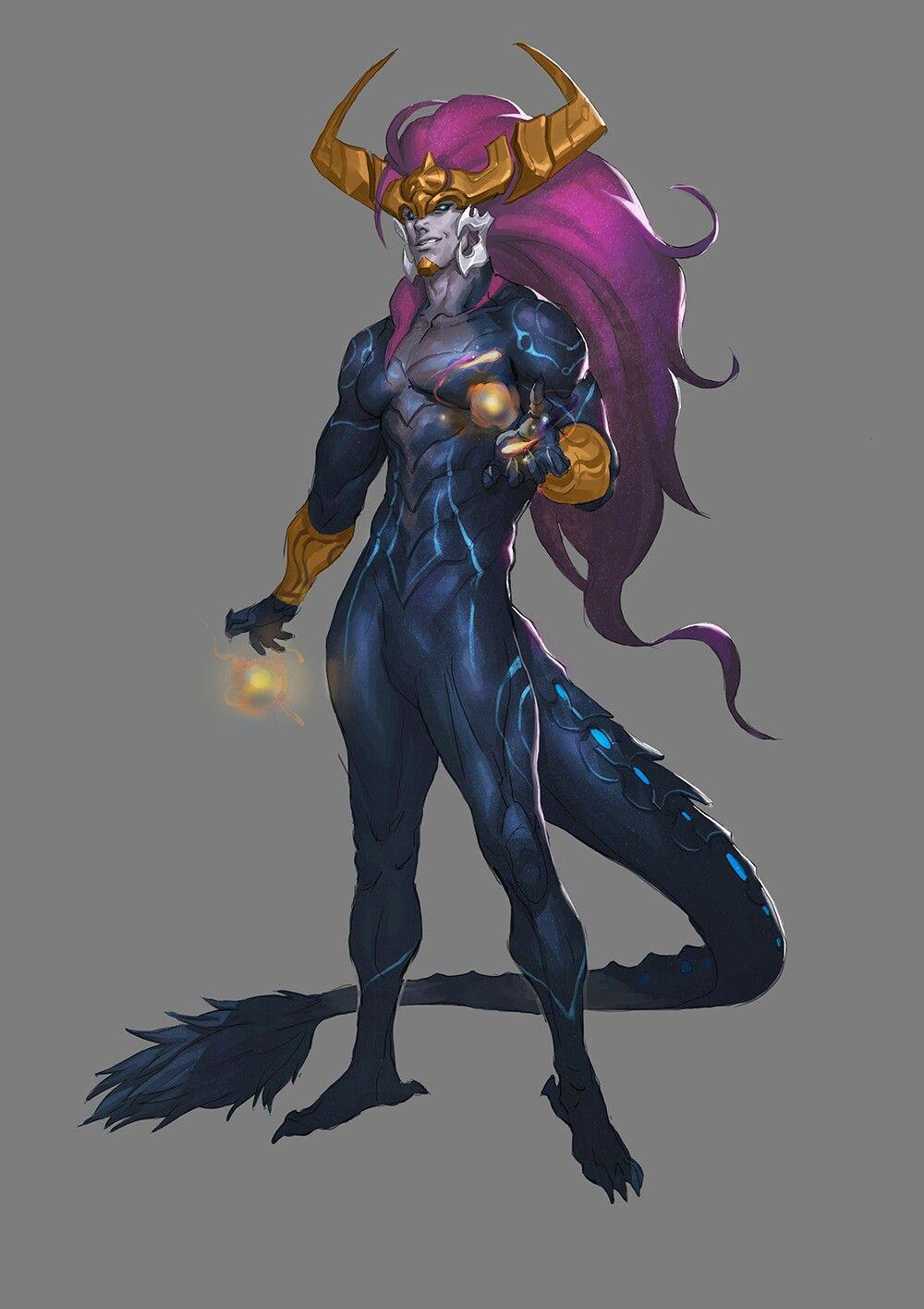 League of Legends - Aurelion Sol | Character art, Concept ...