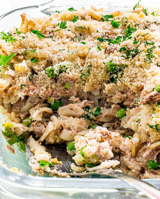 tuna noodle casserole  tuna noodle casserole tasty pasta