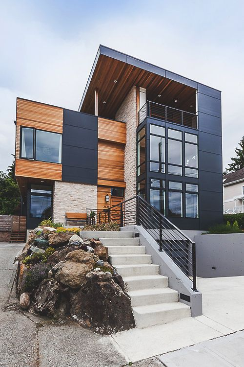 71 Contemporary Exterior Design Photos | Modern architecture ...