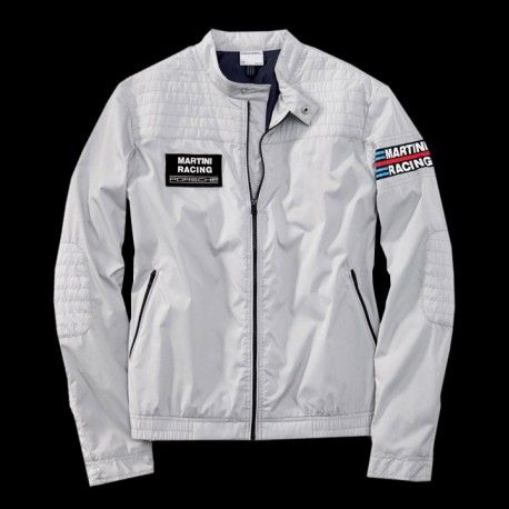 72069b8f00ef Men s windbreaker jacket Martini Racing silver Porsche Design WAP551 -  Selection RS
