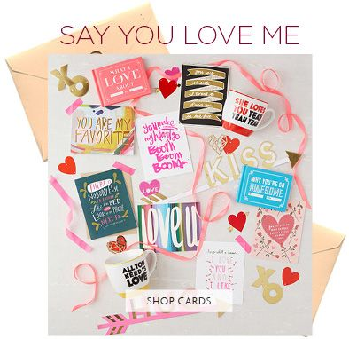 Valentine's Day - say you love me
