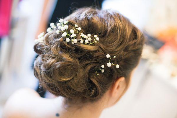 Mariage DIY, champêtre et vintage: décoration romantique   Chignon mariage, Coiffure mariage ...