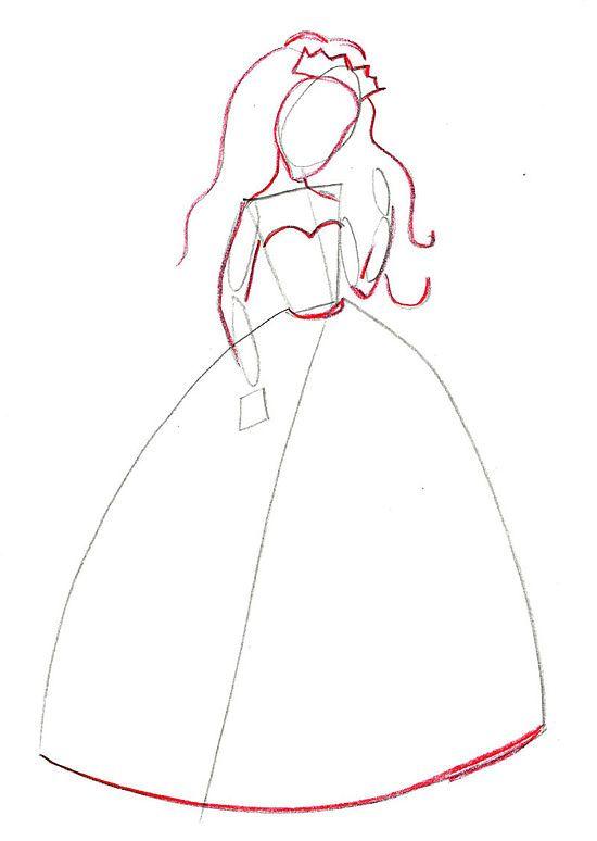 Draw a Princess | Princess, Drawings and Doodles