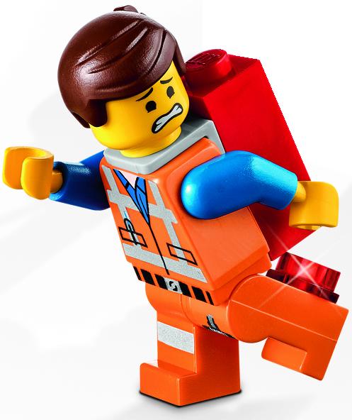Lego Hard Hat Emmet City Town Construction Worker Minifig Minifigure 71004