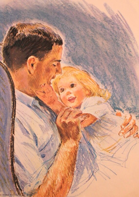 Картинки рисунки с папами