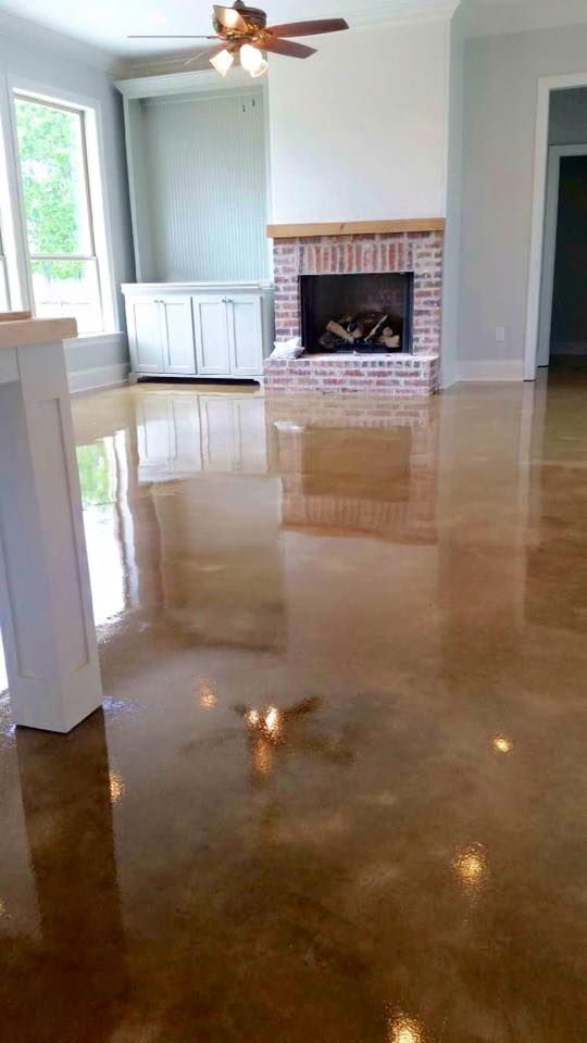 The Best Stained Concrete In The Lafayette Baton Rouge