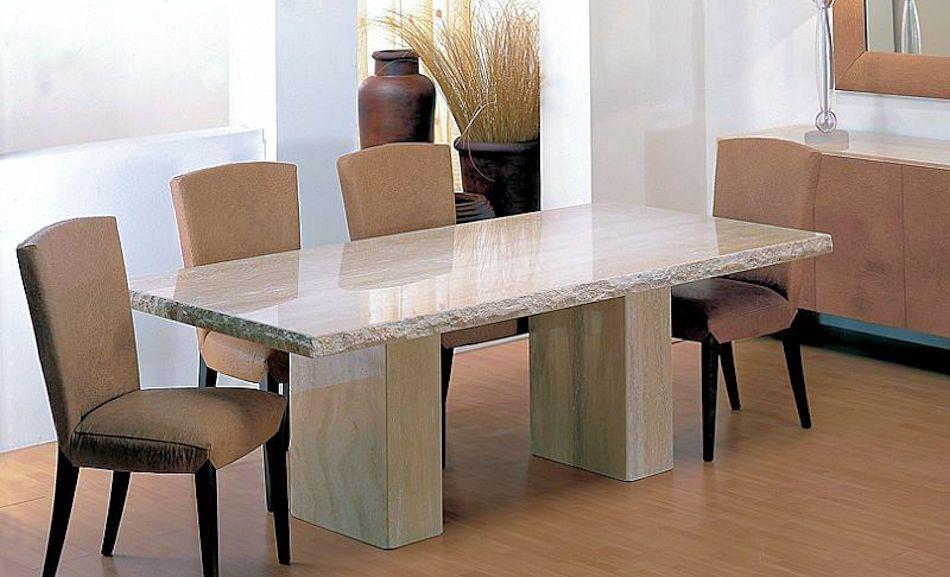 Italian Stone Furniture Dining Table, Stone Dining Room Furniture