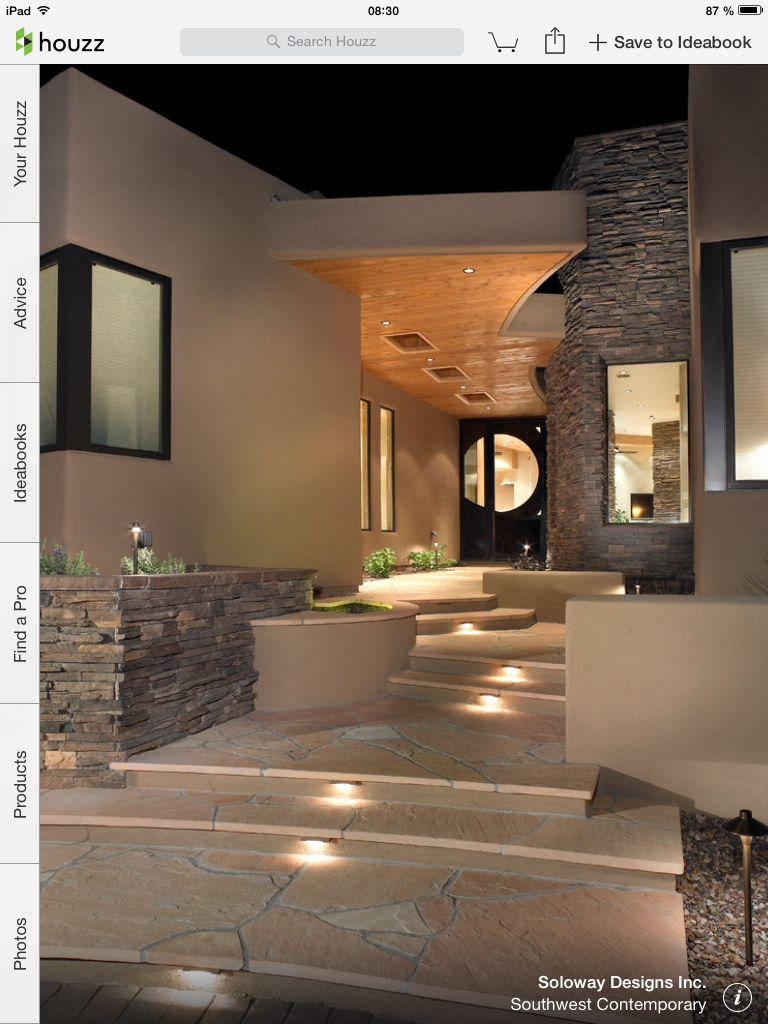 Inspiration pour entrée extérieur maison | Világítás | Pinterest