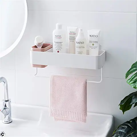 Amazon Com Suction Cup Shelf For Mirror Bathroom Organisation Shower Shelves Bathroom Organization