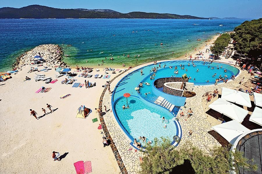 The Croatian Campsite Solaris Is Part Of A Resort Comprising Hotels And Harbour Guests Staying At Are Able To Make Use All