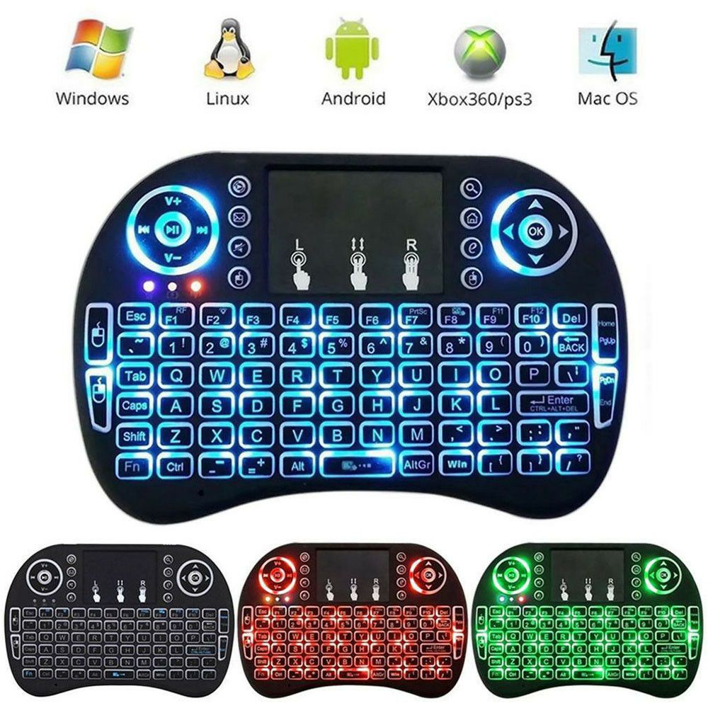 Details about Wireless Remote Mini 2.4G Keyboard for Smart