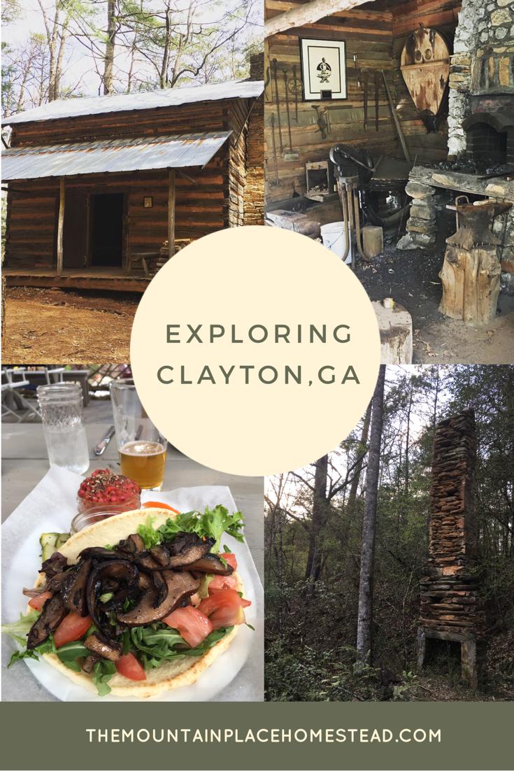 We had a fantastic day trip to Clayton, GA in Rabun County