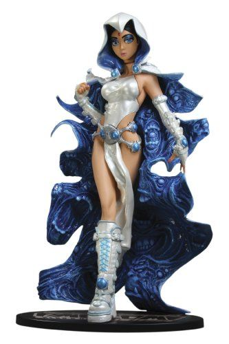 DC Direct Ame-Comi Heroine Series: Raven (Angel of Azarath Variant) PVC Figure
