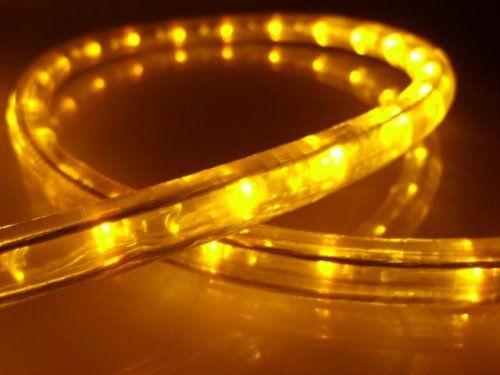 18ft rope lights brilliant amber led rope light kit 10 led 18ft rope lights brilliant amber led rope light kit 10 led spacing aloadofball Choice Image