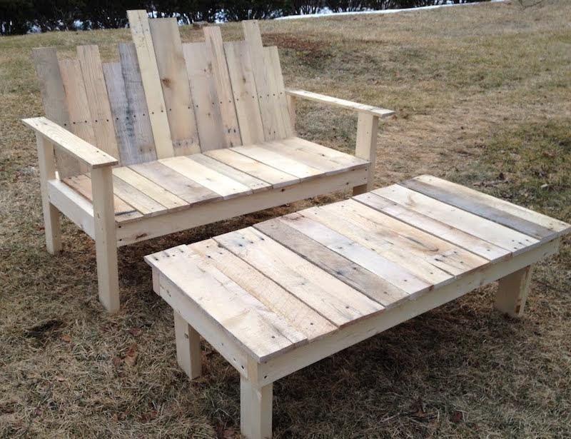 Faire un banc en palette de bois et le décorer soi-même- les top ...