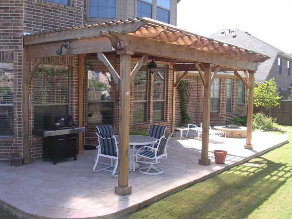 Patio Cover That Doesn 39 T Look Weird Against 2 Story House House Plans Ideas Pinterest