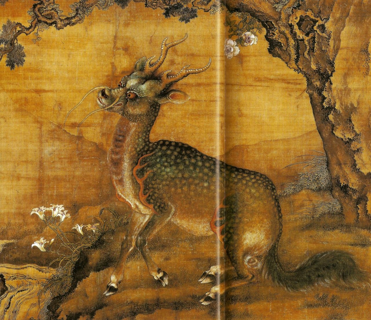 Traditional kirin Kirin are considered the highest beings of the ...
