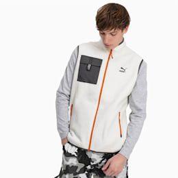 PUMA Veste en polaire XTG Trail pour Homme, Blanc, Taille XL