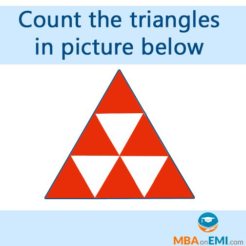 Quiz Count The Triangles In Picture Below  Find  Answer